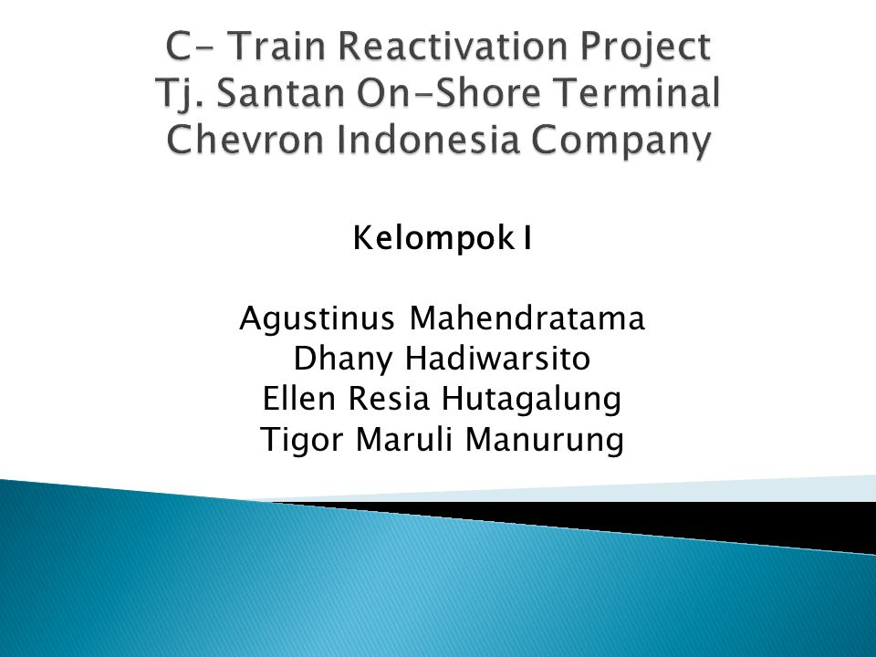 C- Train Reactivation Project Tj