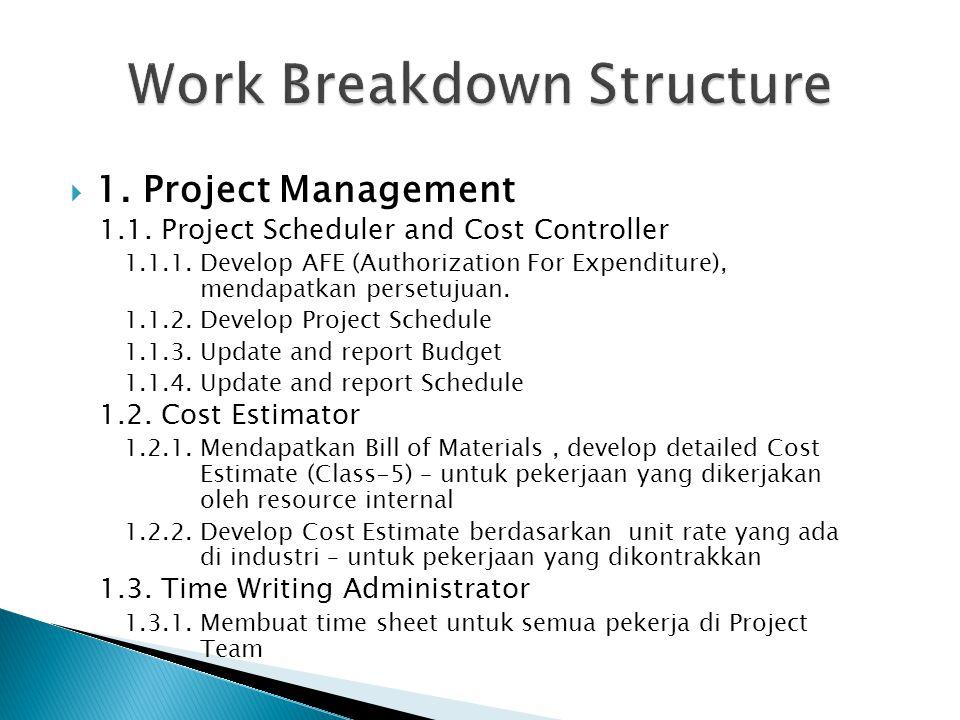 work breakdown structure renovation