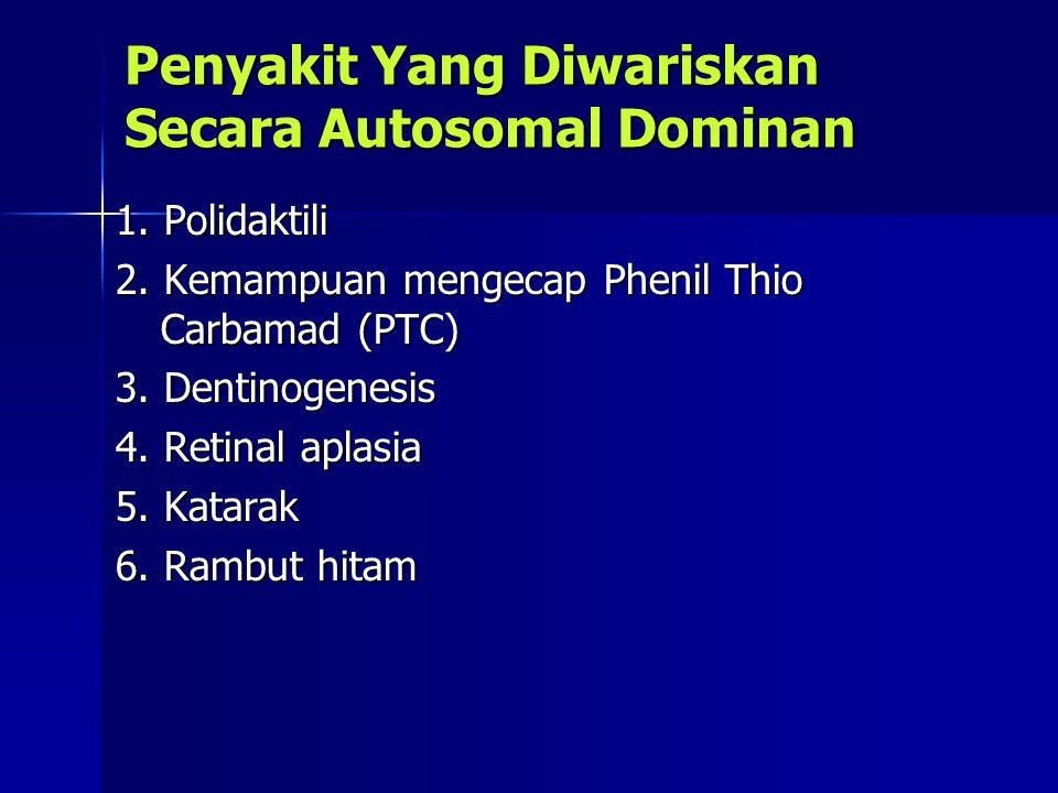 Penyakit Yang Diwariskan Secara Autosomal Dominan