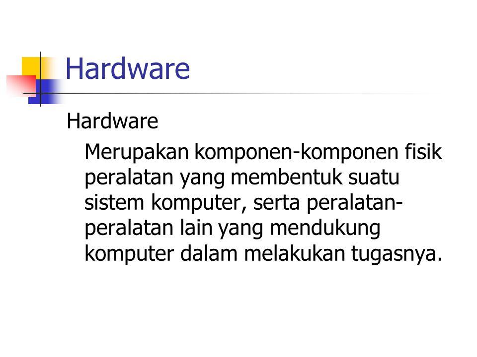 Hardware Hardware.