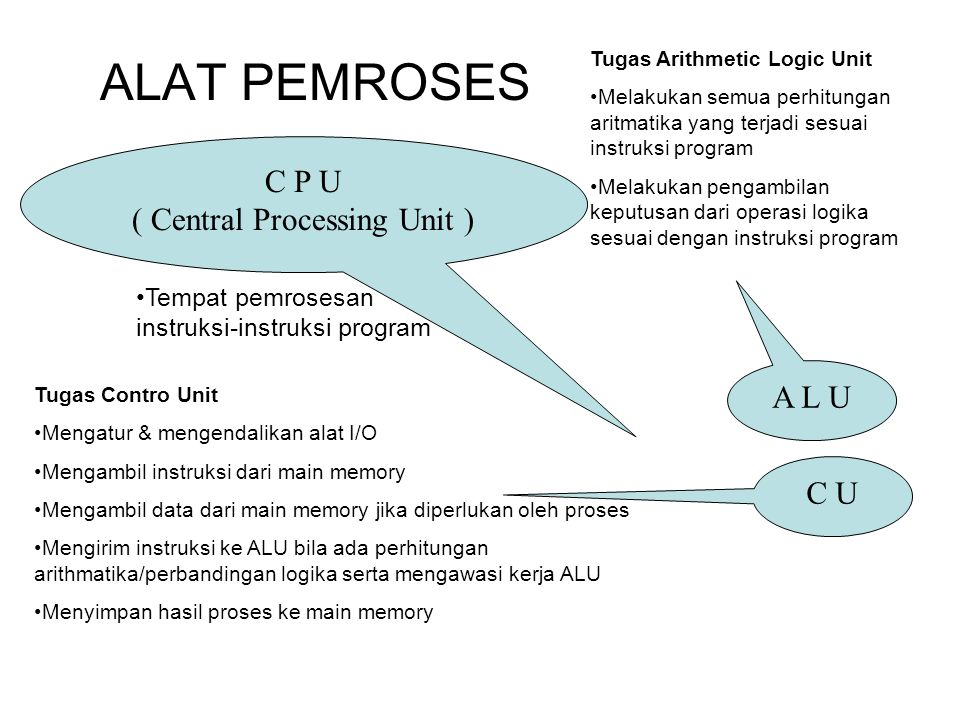 ( Central Processing Unit )