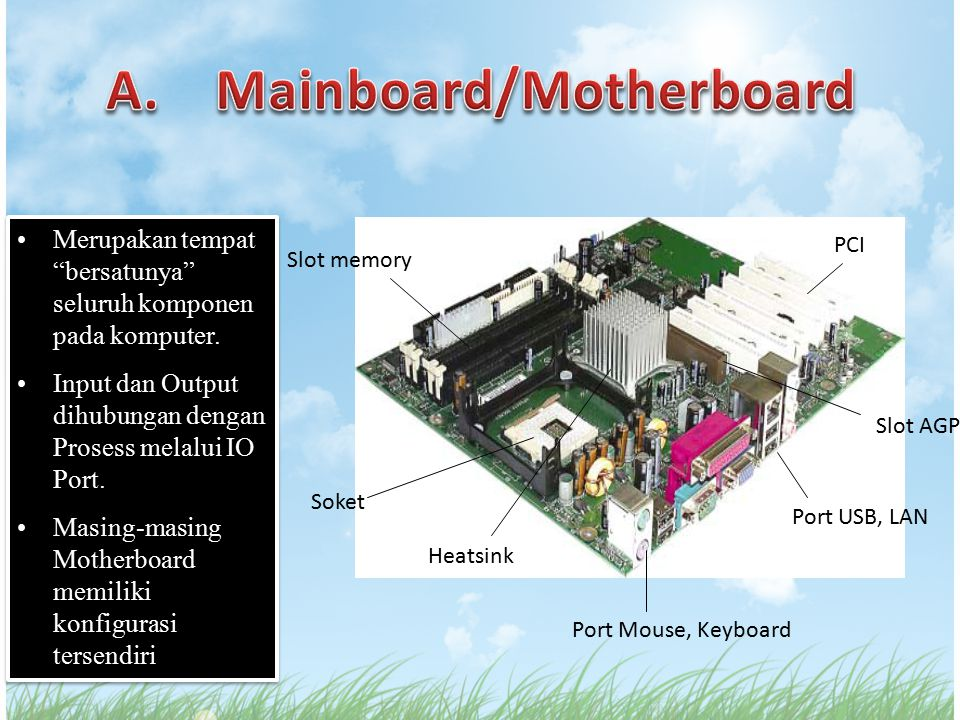 A. Mainboard/Motherboard