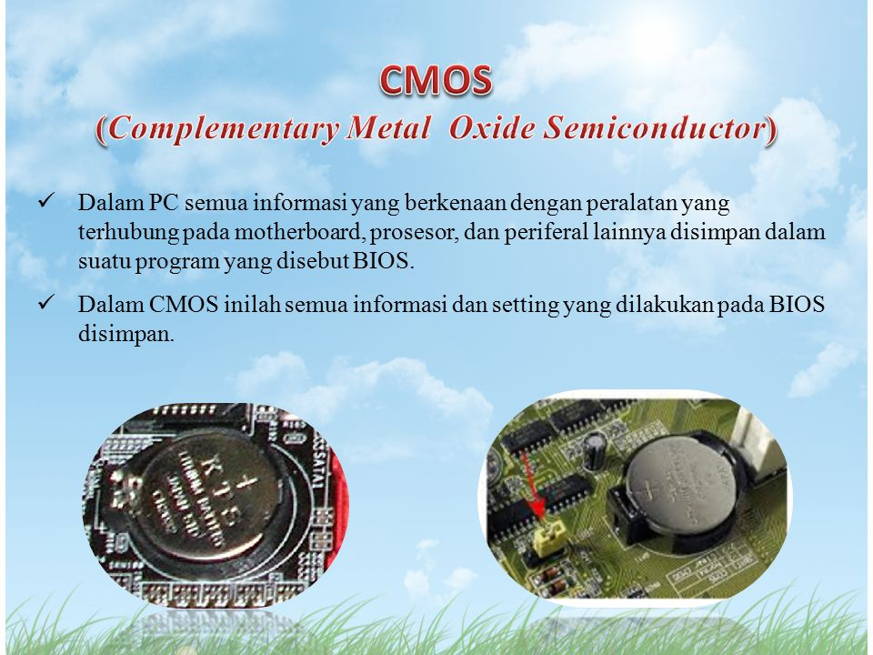 (Complementary Metal Oxide Semiconductor)