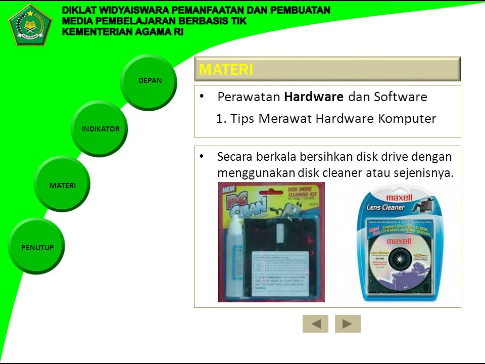 MATERI Perawatan Hardware dan Software
