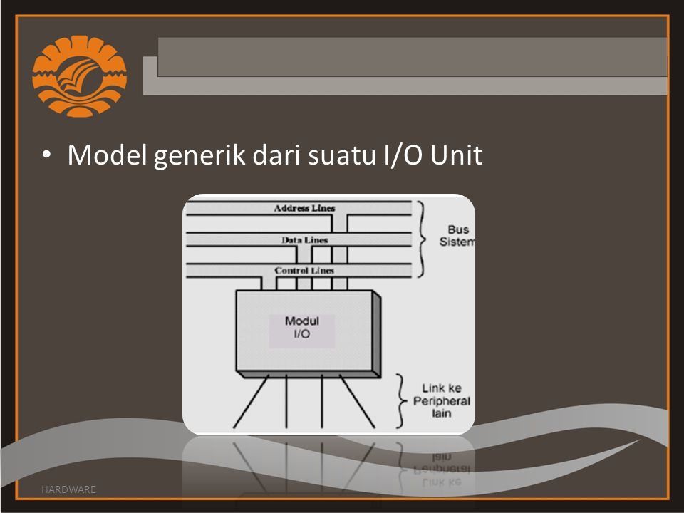 Model generik dari suatu I/O Unit