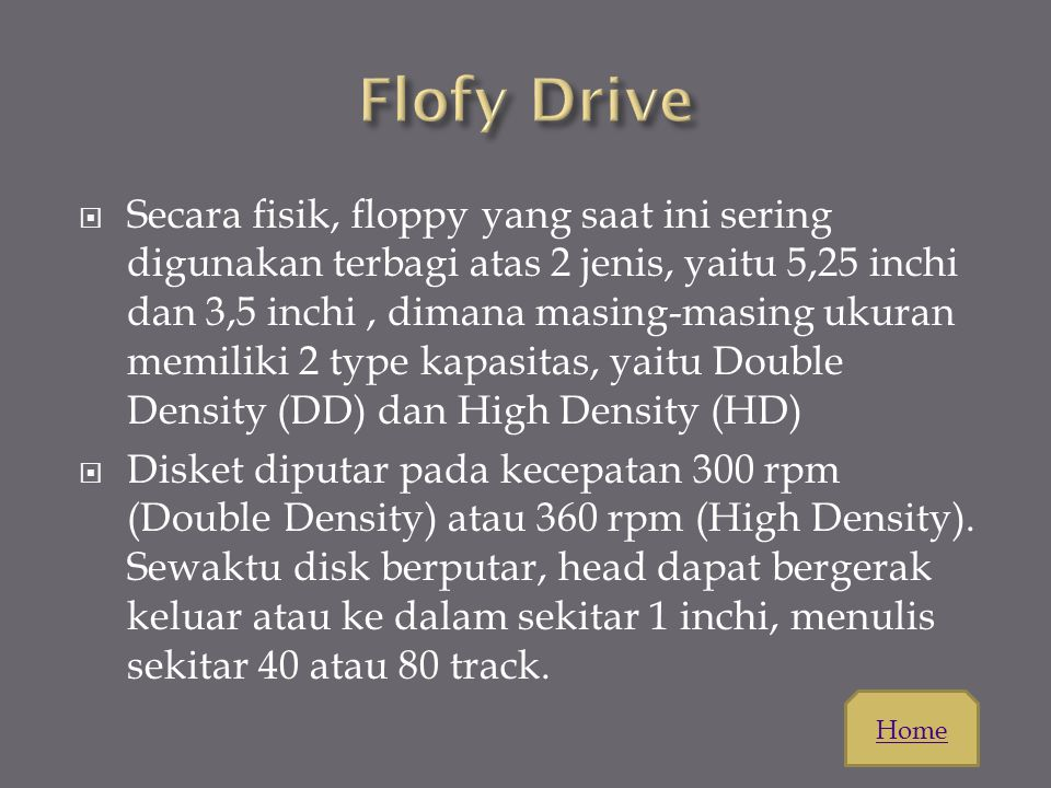 Flofy Drive