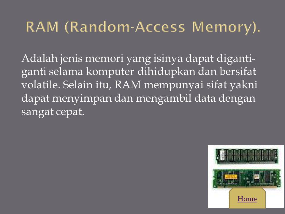 RAM (Random-Access Memory).