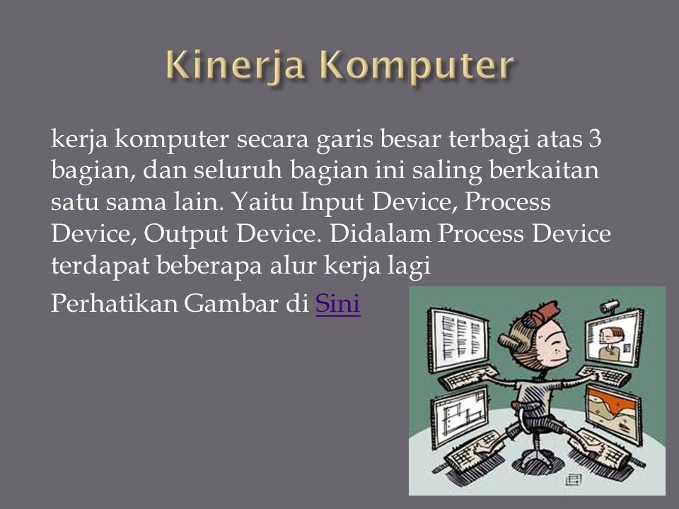 Kinerja Komputer
