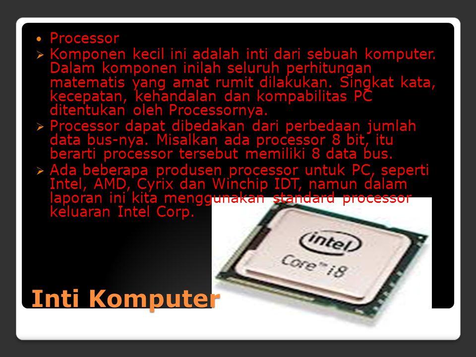 Inti Komputer Processor