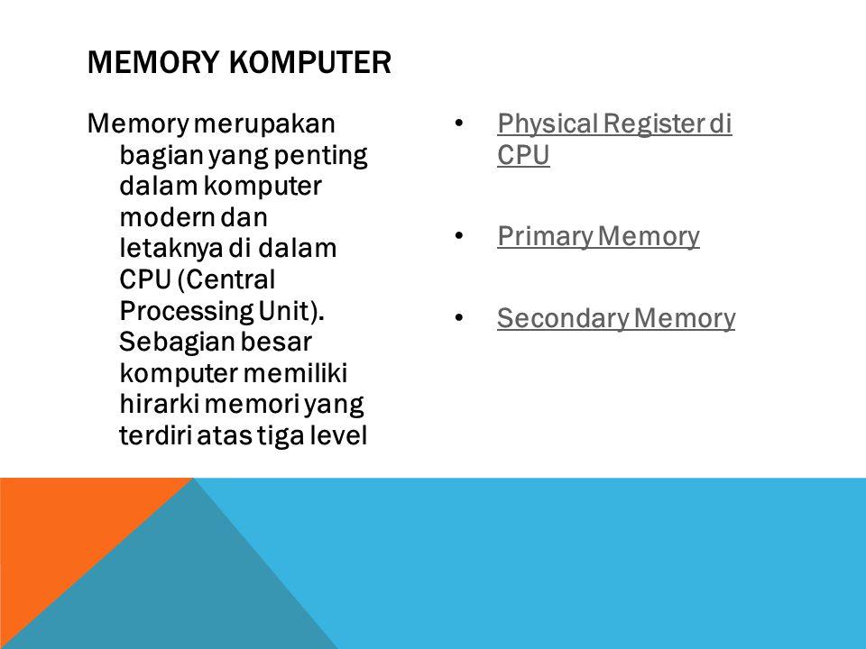 Memory Komputer