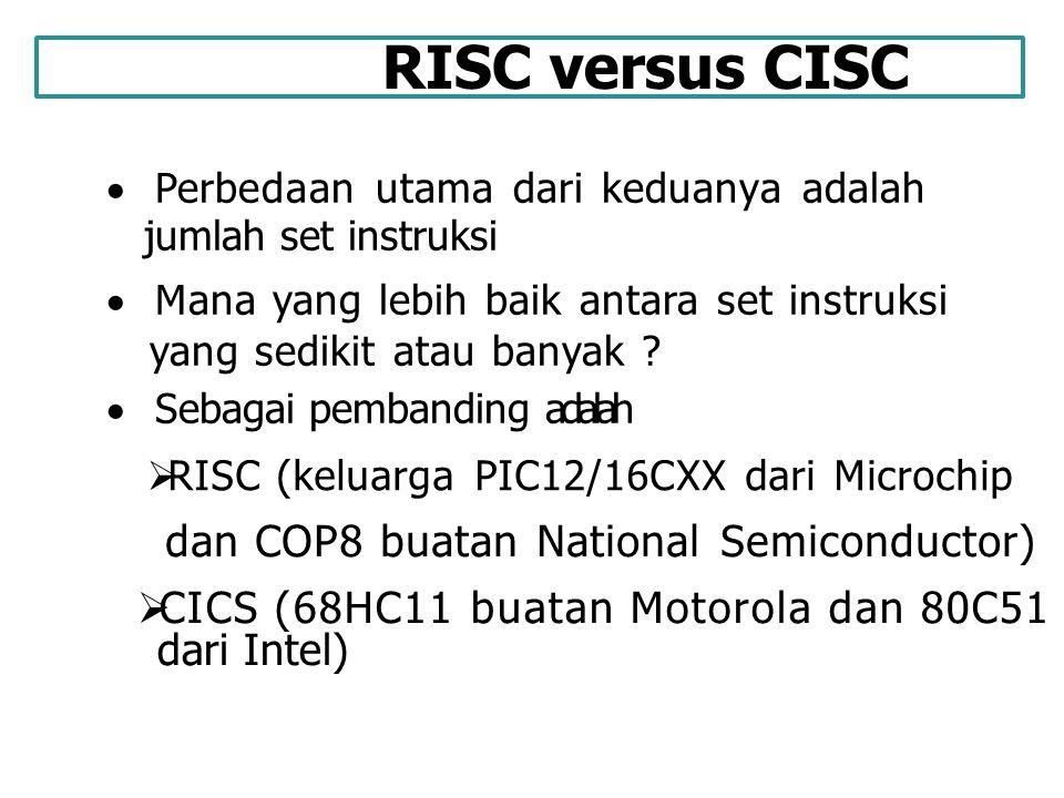 CICS (68HC11 buatan Motorola dan 80C51