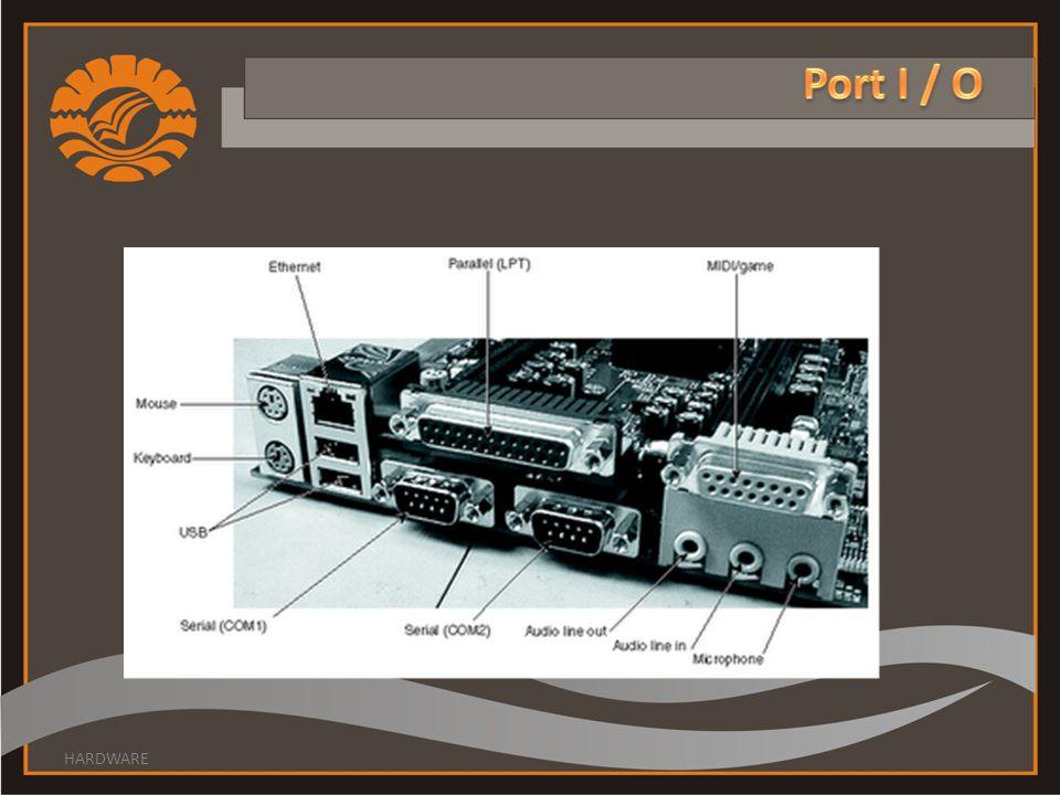 Port I / O HARDWARE