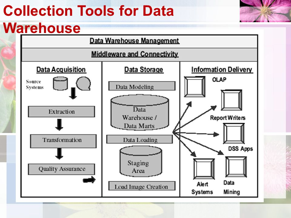Collection Tools for Data Warehouse