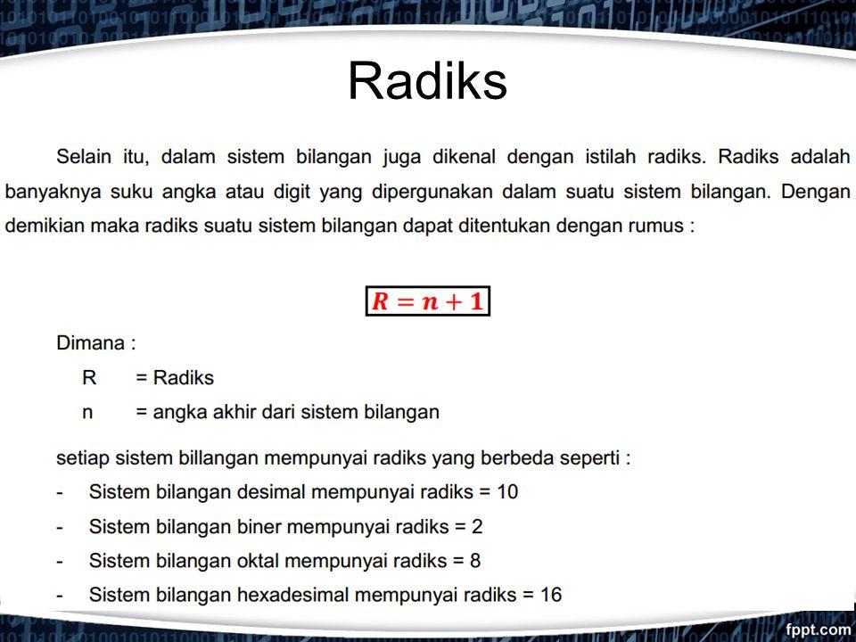 Radiks