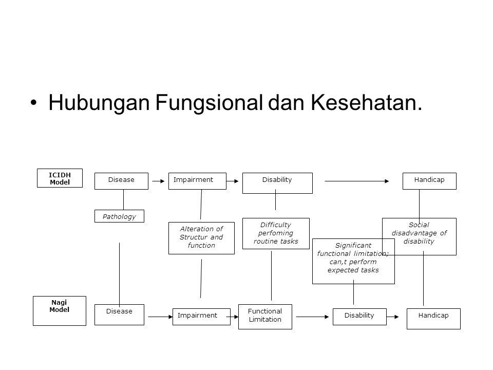 Hubungan Fungsional dan Kesehatan.