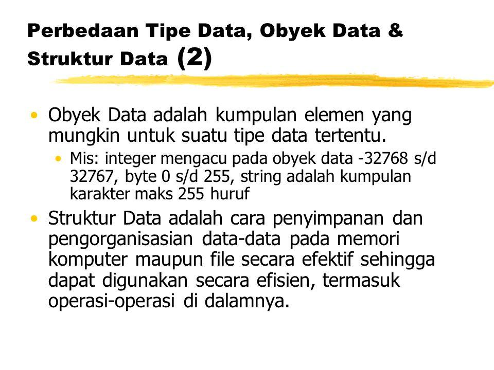 Perbedaan Tipe Data, Obyek Data & Struktur Data (2)