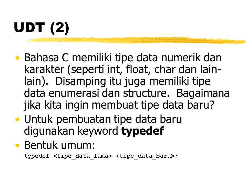 UDT (2)