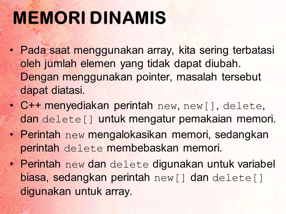 MEMORI DINAMIS