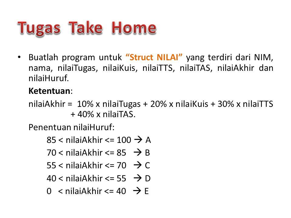 Tugas Take Home