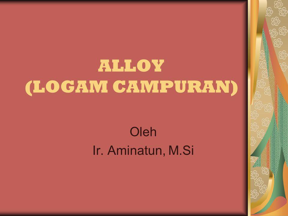 ALLOY (LOGAM CAMPURAN)