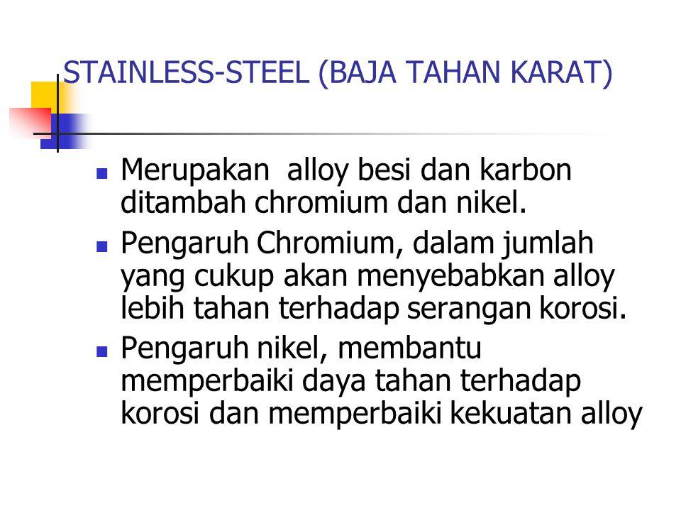 STAINLESS-STEEL (BAJA TAHAN KARAT)