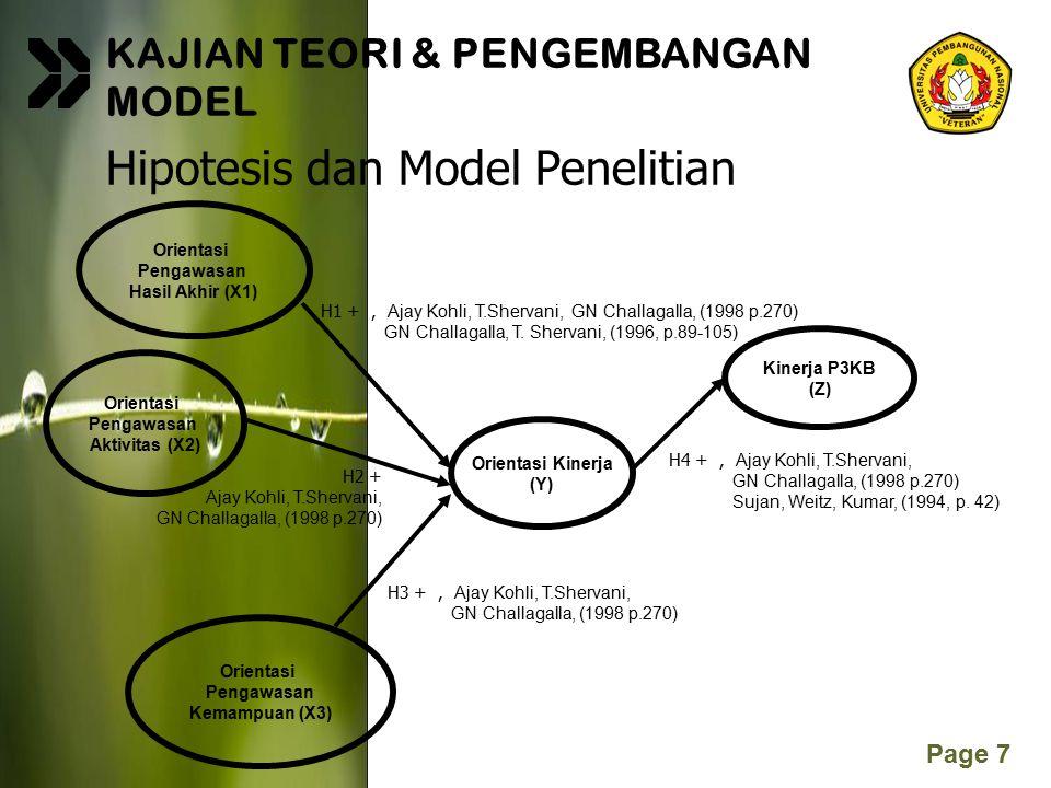 Hipotesis dan Model Penelitian