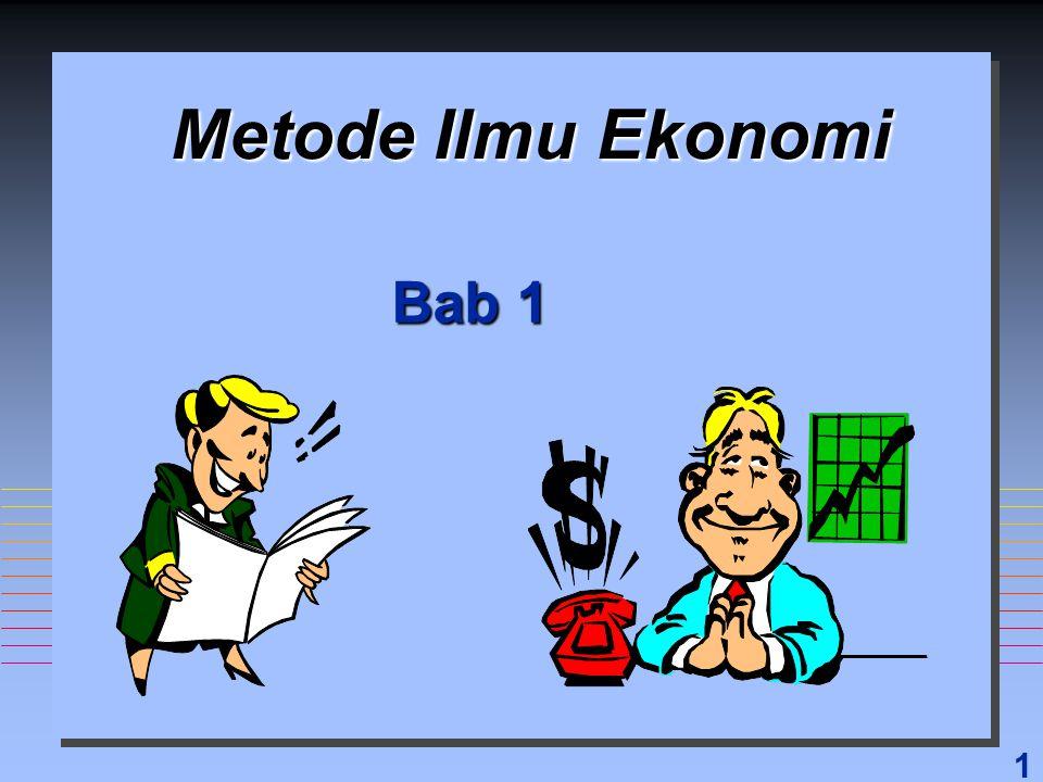Metode Ilmu Ekonomi Bab 1