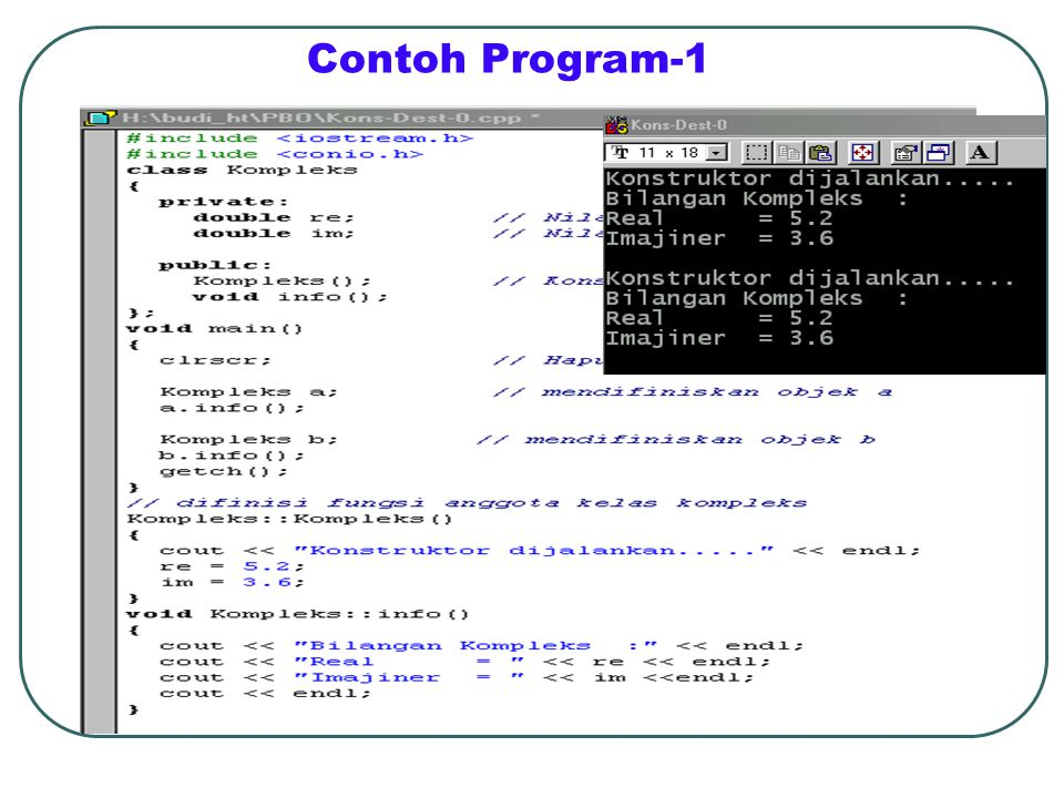 Contoh Program-1
