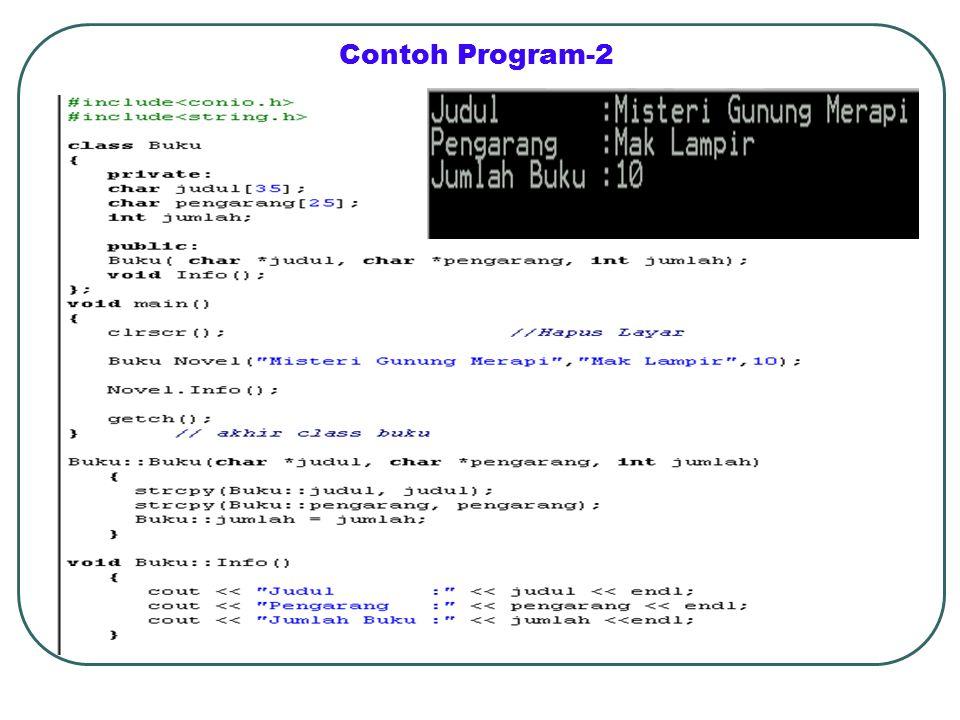 Contoh Program-2
