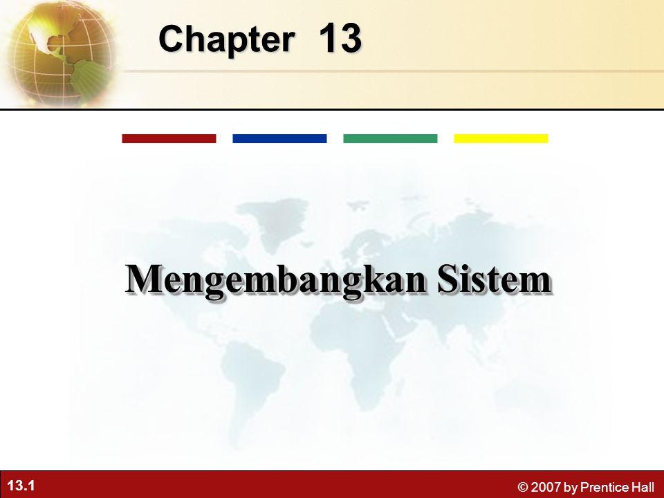 Chapter 13 Mengembangkan Sistem