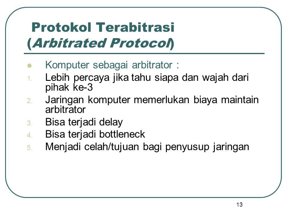 Protokol Terabitrasi (Arbitrated Protocol)