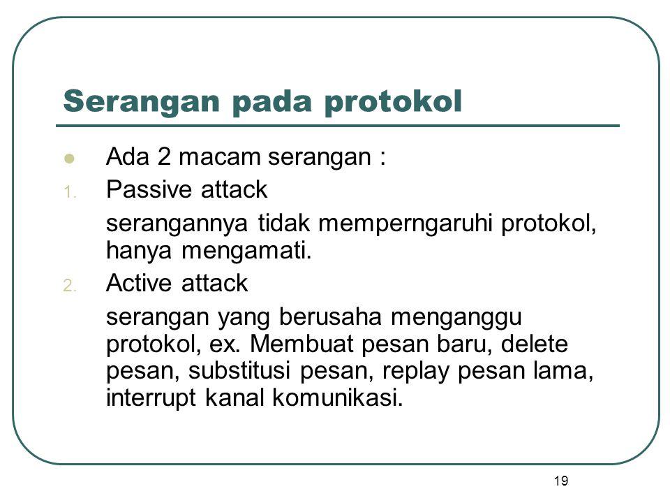 Serangan pada protokol