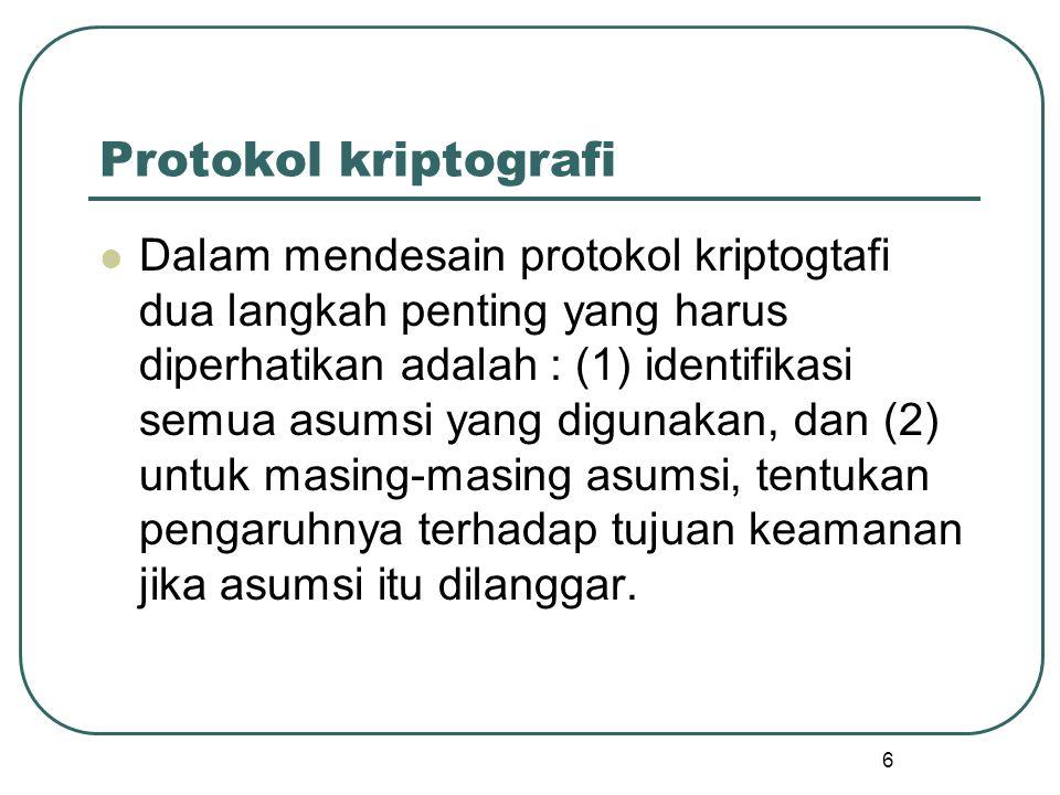 Protokol kriptografi