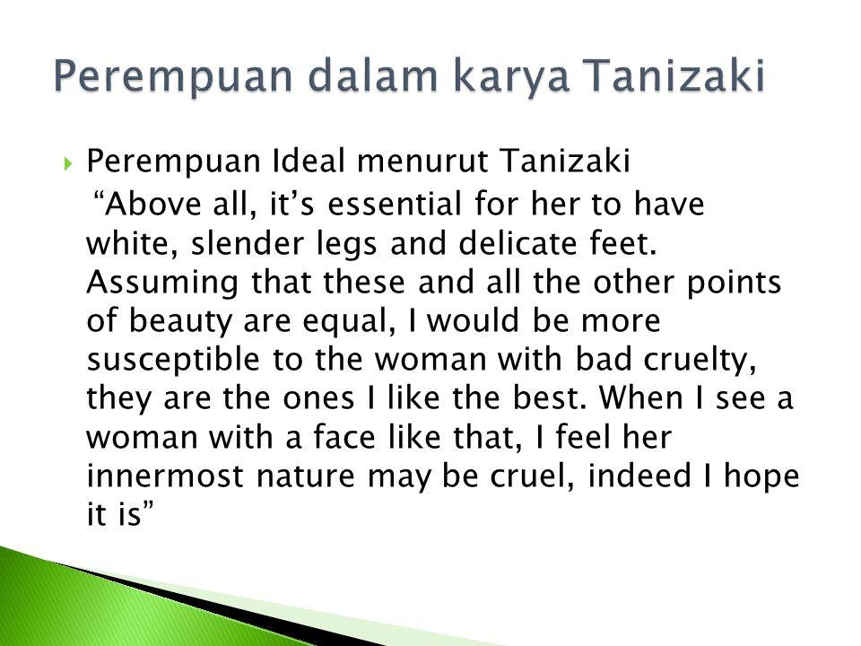 Perempuan dalam karya Tanizaki