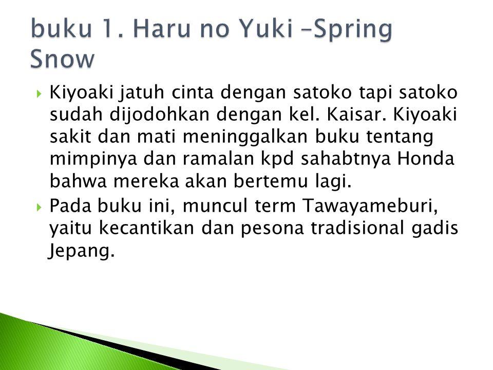 buku 1. Haru no Yuki –Spring Snow