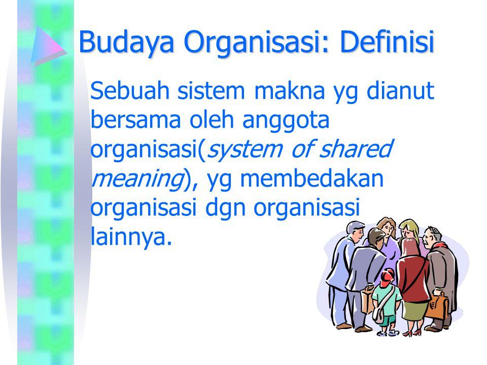 Budaya Organisasi: Definisi