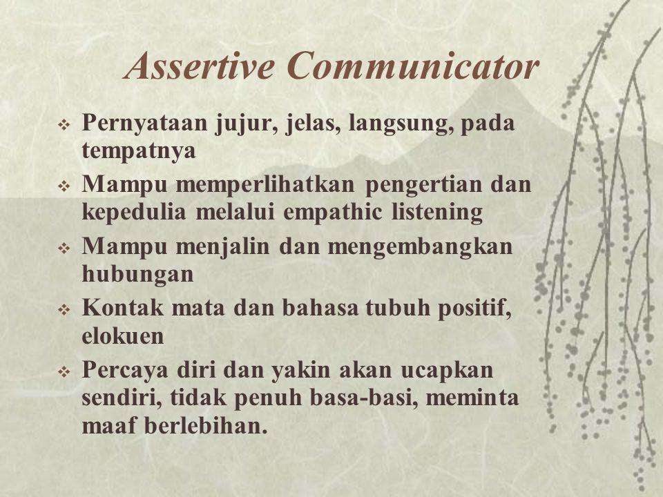 Assertive Communicator