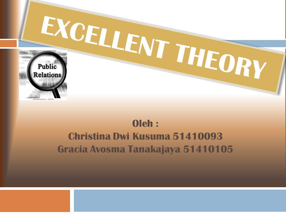 Oleh : Christina Dwi Kusuma 51410093 Gracia Avosma Tanakajaya 51410105