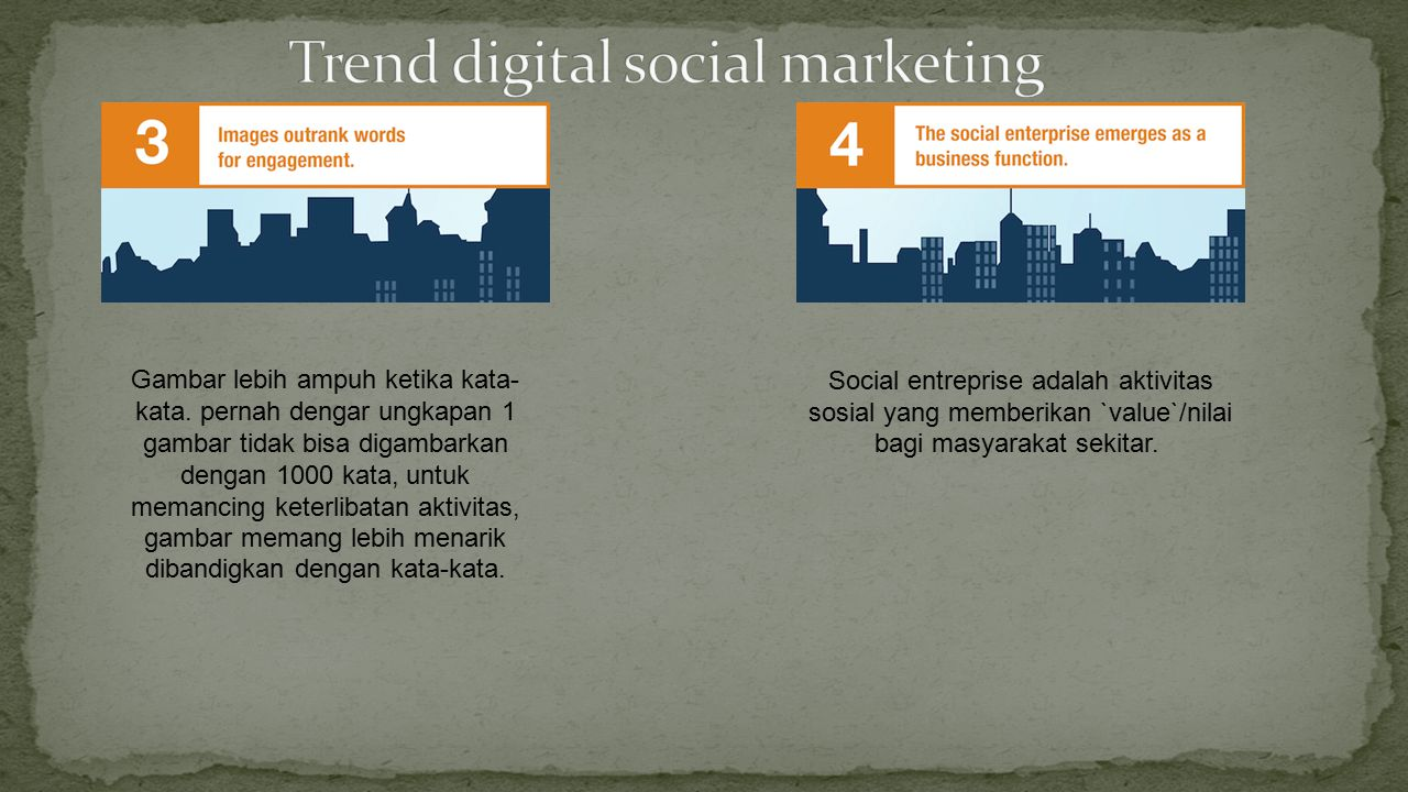 Trend digital social marketing