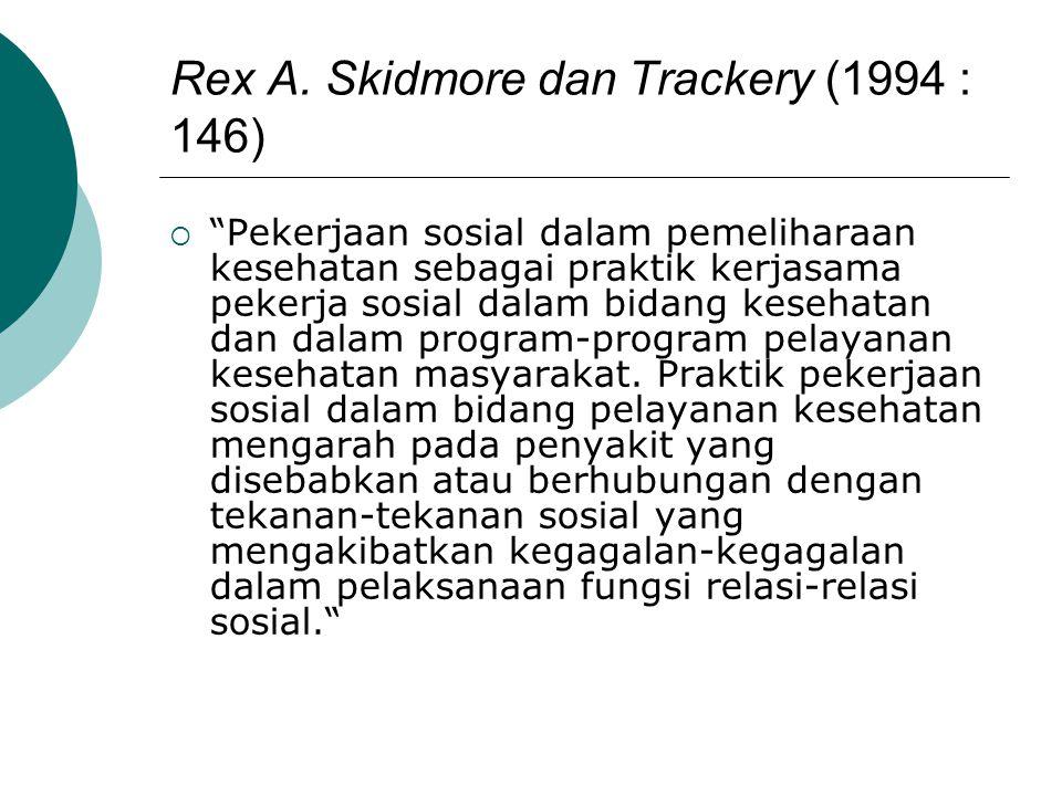 Rex A. Skidmore dan Trackery (1994 : 146)