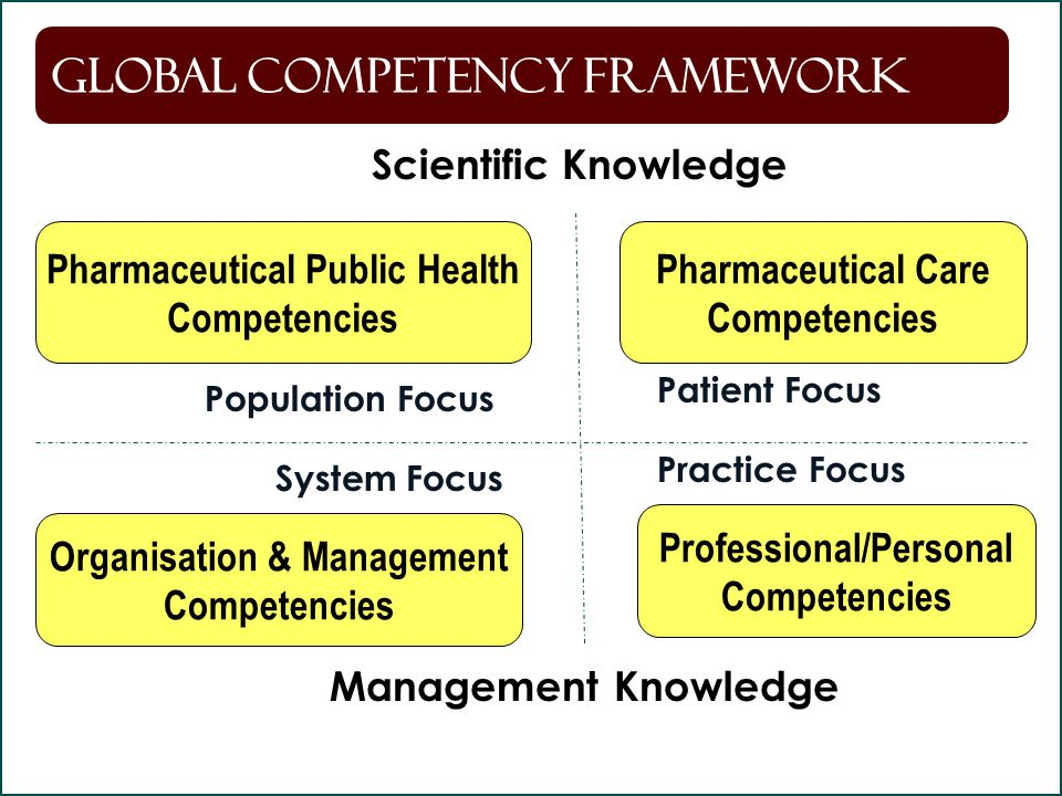 Global Competency Framework
