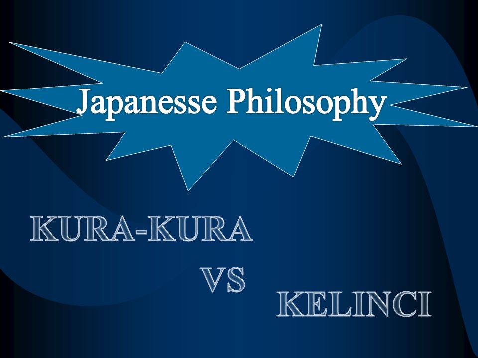 Japanesse Philosophy KURA-KURA VS KELINCI