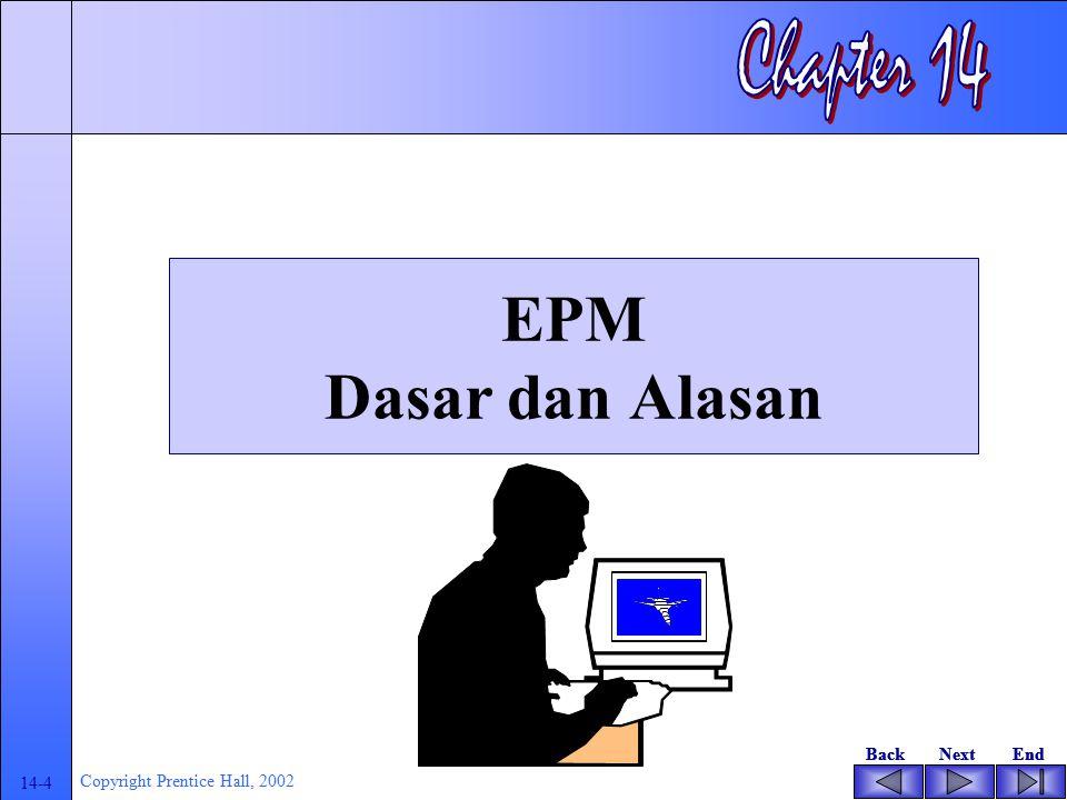 Chapter 14 EPM Dasar dan Alasan