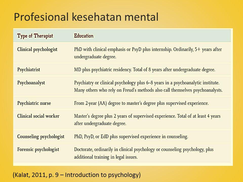 Profesional kesehatan mental