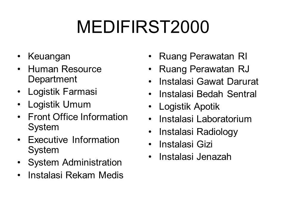 MEDIFIRST2000 Keuangan Human Resource Department Logistik Farmasi