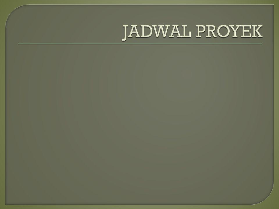 JADWAL PROYEK