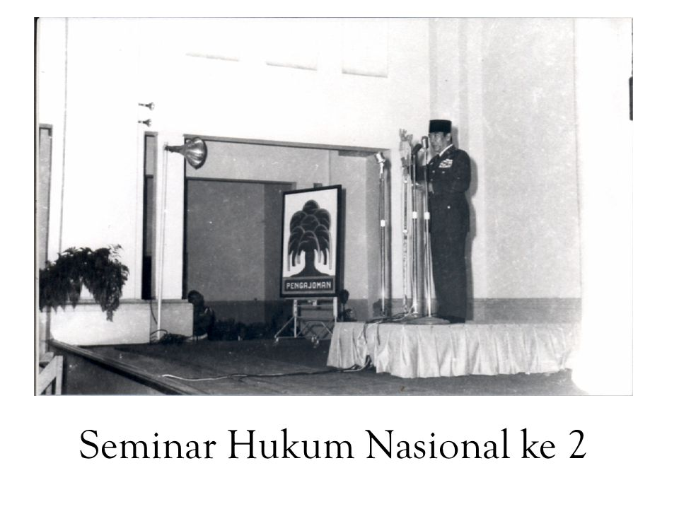 Seminar Hukum Nasional ke 2
