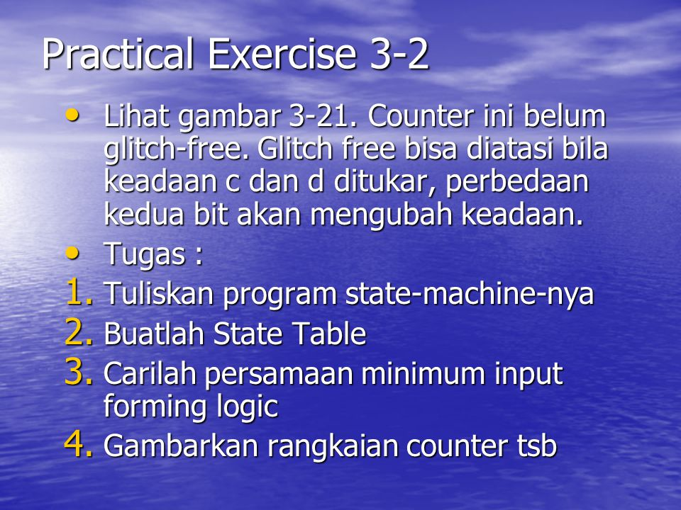 Practical Exercise 3-2
