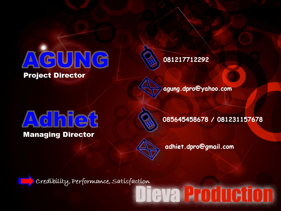 AGUNG Adhiet Project Director Managing Director