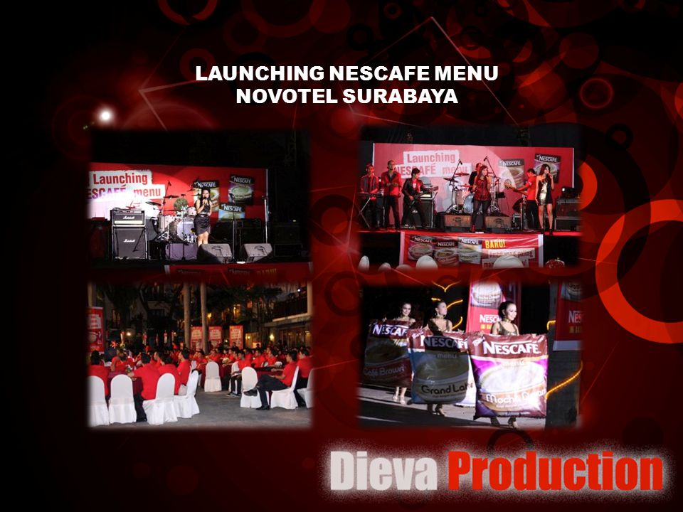 LAUNCHING NESCAFE MENU